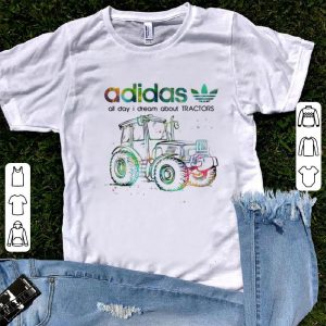 Official Adidas All Day I Dream About Tractors shirt