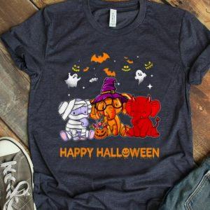 Official Elephant Happy Halloween Pumpkin For Elephant Lovers shirt