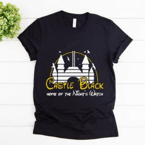 Official Game Of Thrones Castle black Home Of The Night's Watch Disney shirt