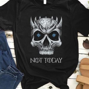 Official Game Of Thrones Skull Night King Not Today shirt