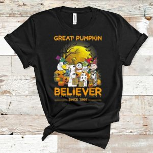 Official Great Pumpkin Believer Since 1966 Charlie Brown Ghost shirt