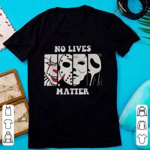 Official Halloween No Lives Matter Horror Character shirt