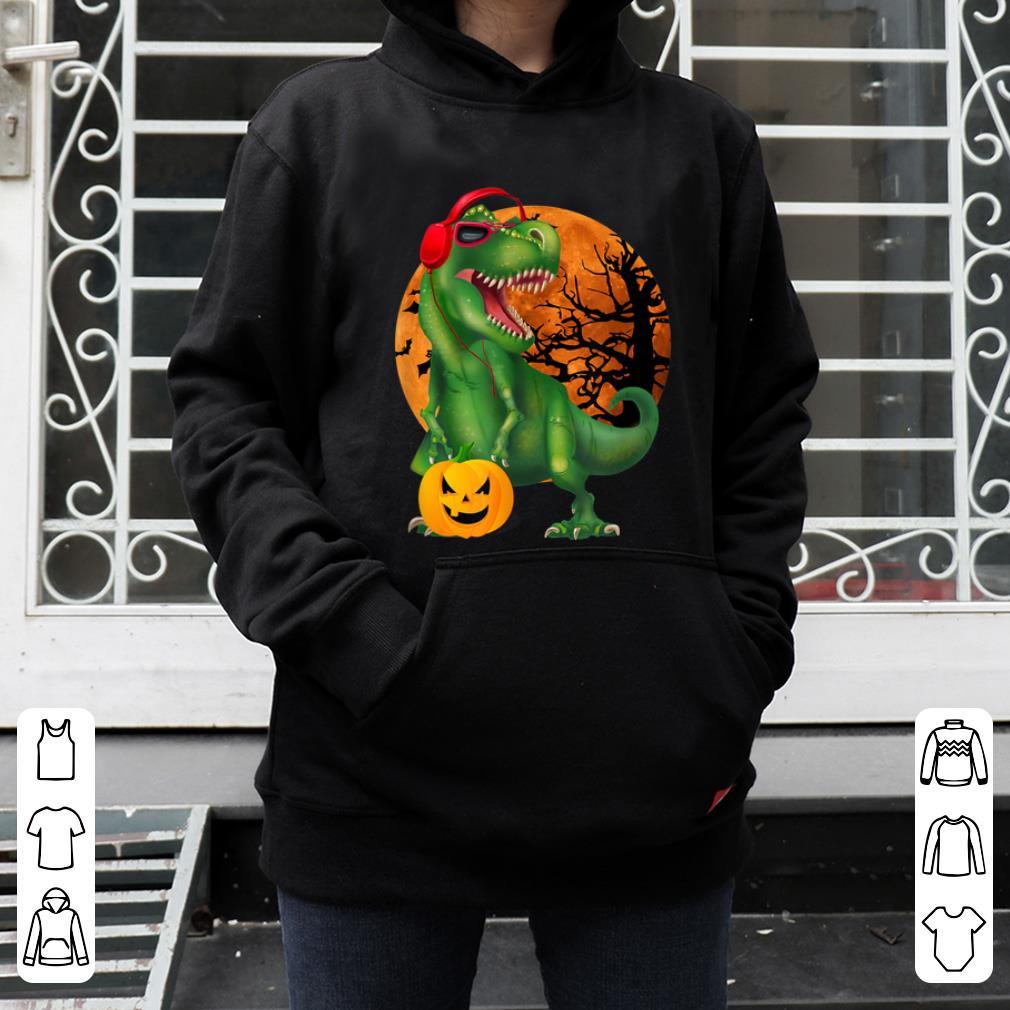 Official Halloween T Rex Dinosaur Halloween Pumpkin Gift Boys shirt 4 - Official Halloween T Rex Dinosaur Halloween Pumpkin Gift Boys shirt