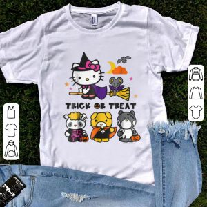Official Hello Kitty and Friends Halloween shirt