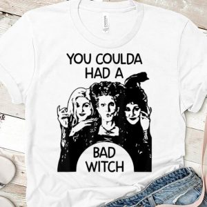 Official Hocus Pocus You Could Had A Bad Witch shirt