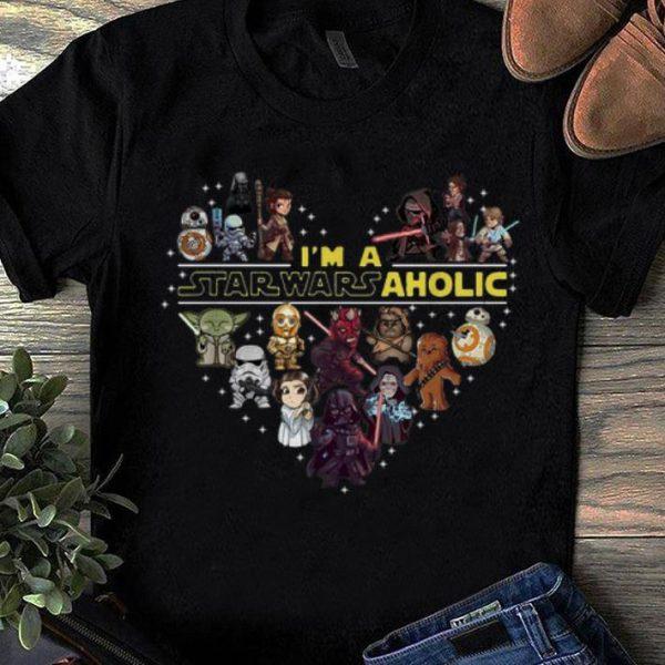 Official I'm A Star Wars Aholic Star Wars Chibi Characters shirt