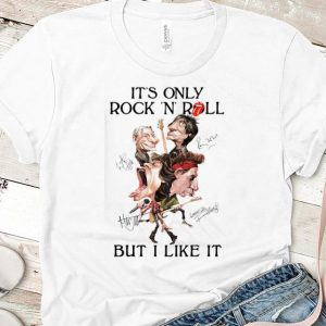 Official It's Only Rock N Roll But I Like It Guitar Rolling Stones Signature shirt