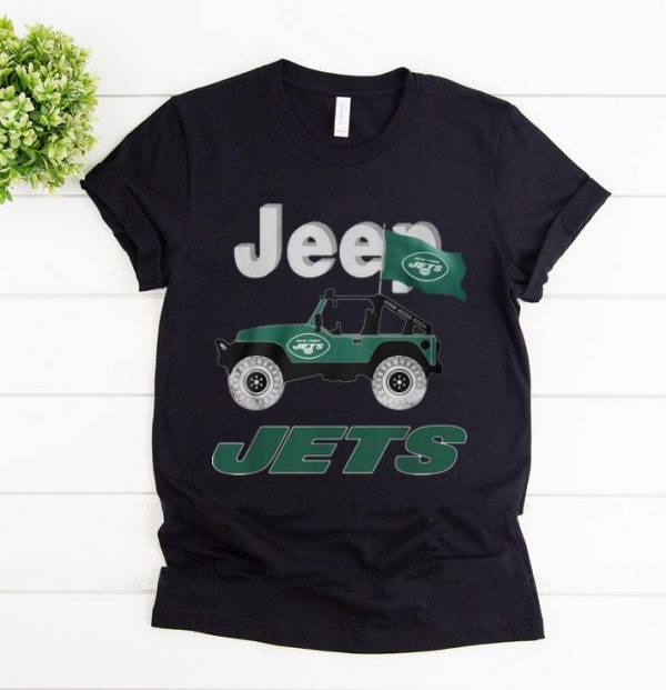 Official Jeep Flag Jets New York NFL shirt