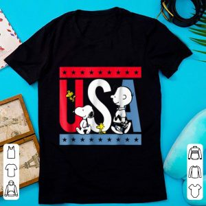 Official Snoopy And Charlie Brown American shirt
