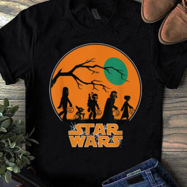 Official Star Wars Characters Halloween shirt