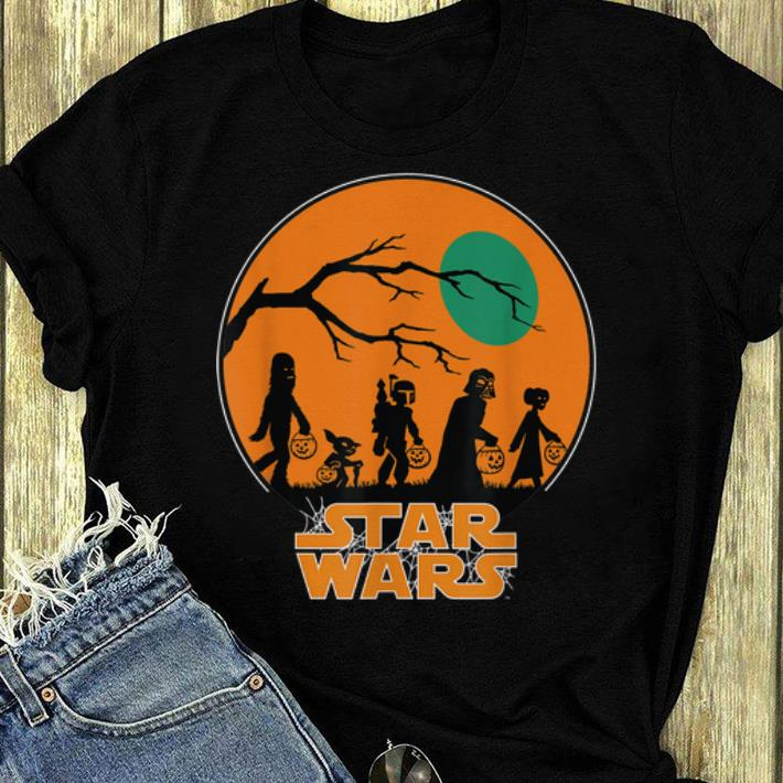 Official Star Wars Characters Halloween shirt 4 - Official Star Wars Characters Halloween shirt