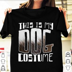 Official This Is My Dog Costume Funny Halloween shirt