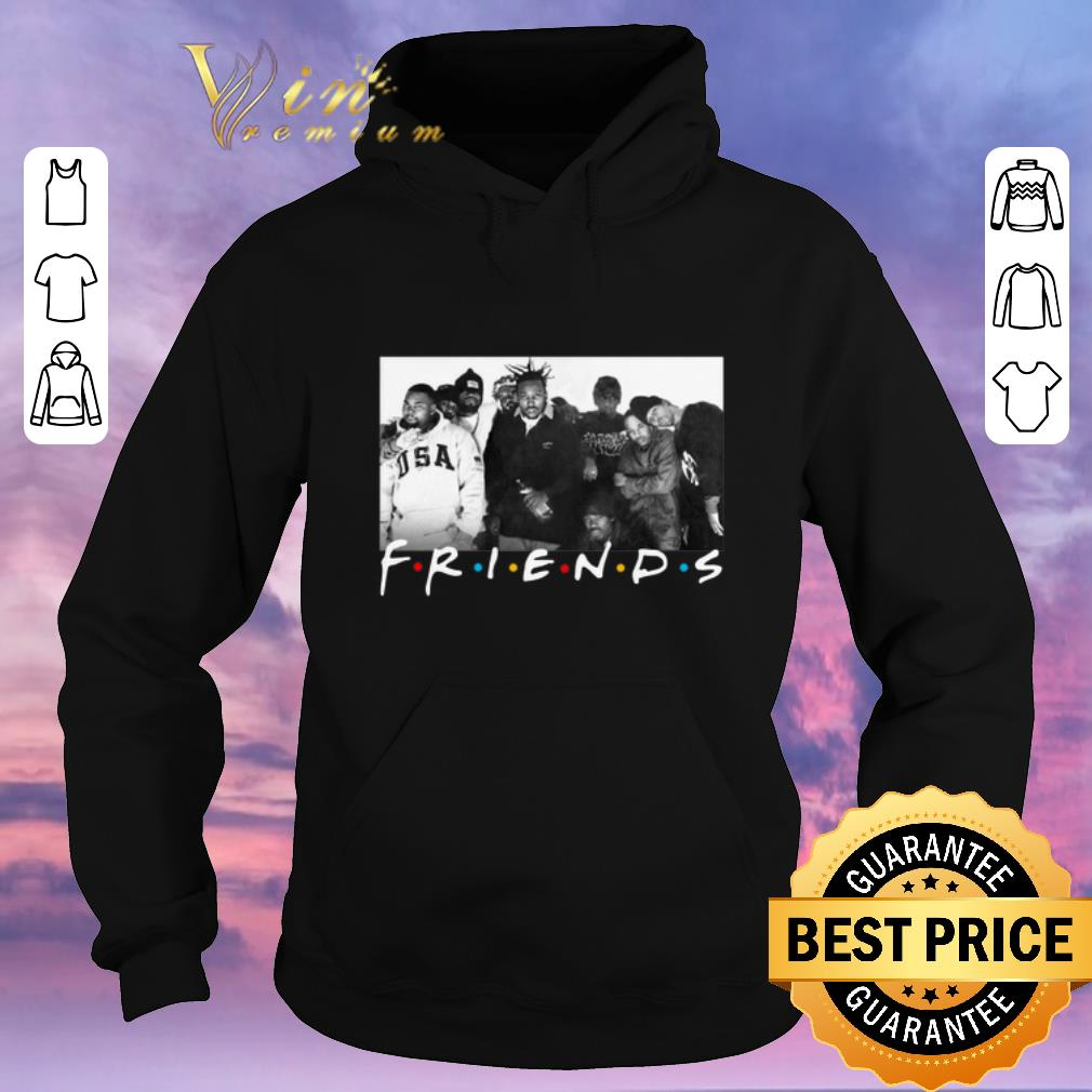 Official Wu Tang Clan Friends shirt sweater 4 - Official Wu-Tang Clan Friends shirt sweater