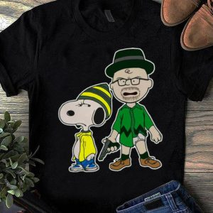 Original Breaking Nuts Breaking Bad Peanuts Snoopy Charlie Brown shirt