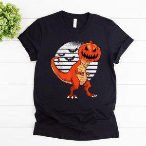 Original Dinosaur Pumpkin Head Halloween Costume Gift For Boys shirt