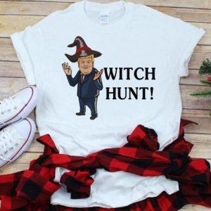 Original Donald Trump Witch Hunt Halloween shirt