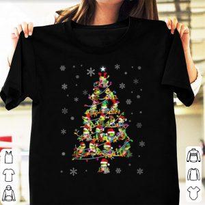 Original Frog Christmas Tree Merry Xmas shirt