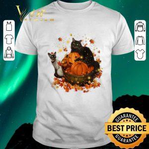 Original Halloween Autumn Cats shirt