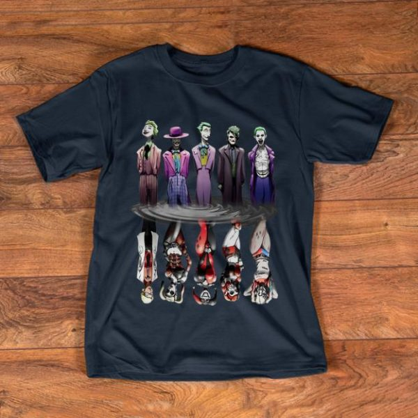 Original Joker And Harley Quinn Reflection Mirror Water shirt