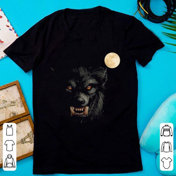 Original Scary Cool Halloween Werewolf Lychan Trick Or Treat Party shirt