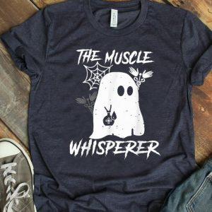 Original The Muscle Whisperer Ghost Halloween shirt