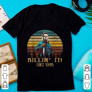 Original Vintage Retro Michael Myers Killin' It Since 1978 Halloween shirt