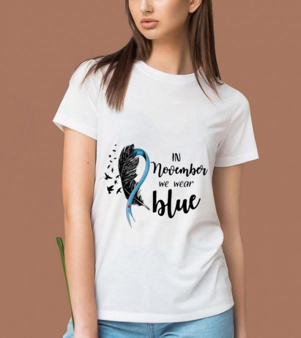 Premium Diabetes Awareness In November We Wear Blue shirt