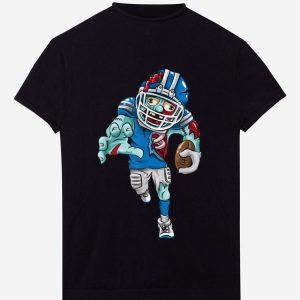 Premium Funny American Football Zombie Halloween Gift Running Back shirt