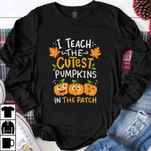 Premium Halloween Pre-K Teacher Cutest Pumpkins Gift shirt
