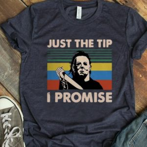 Premium Jason Voorhees Just The Tip I Promise Vintage shirt