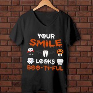 Premium Your Smile Looks Boo-Ti-Ful Dental Halloween shirt