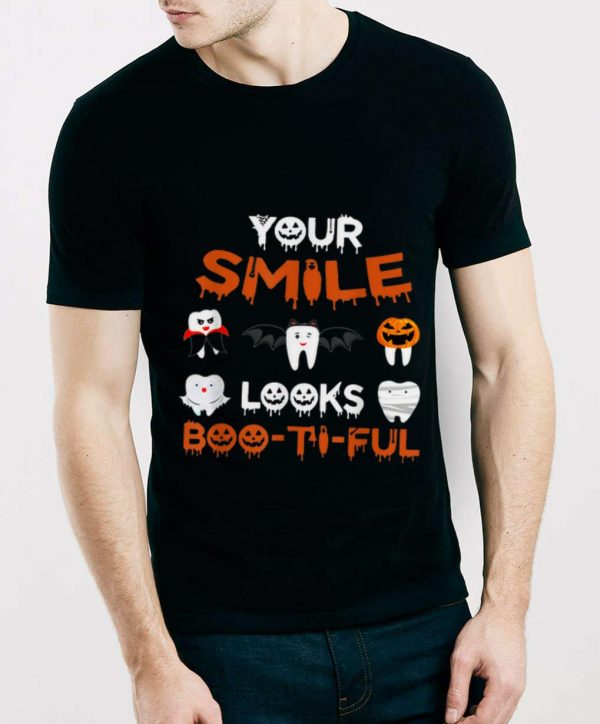 Premium Your Smile Looks Boo-Ti-Ful Dental Halloween shirt