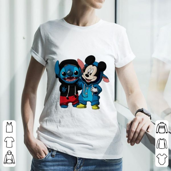 Pretty Baby Stitch And Mickey Mouse shirt