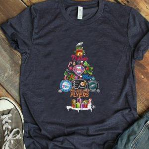 Pretty Christmas Tree Philadelphia Flyers shirt