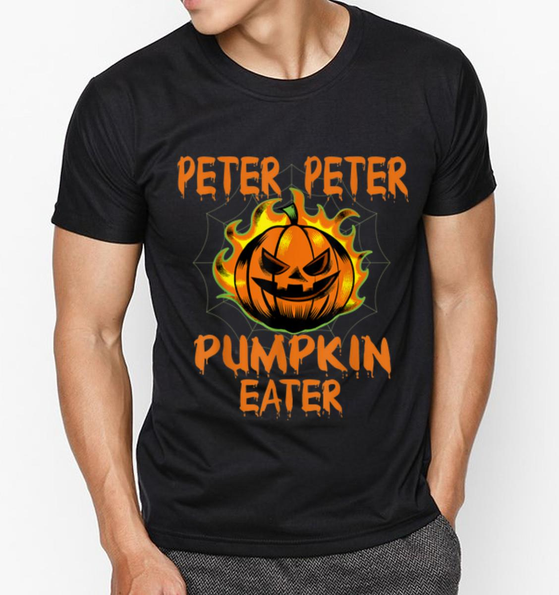 Pretty Halloween Costume Peter Peter Pumpkin Eater Shirt