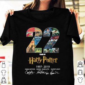 Pretty Harry Potter 22 Years 1997 - 2019 shirt