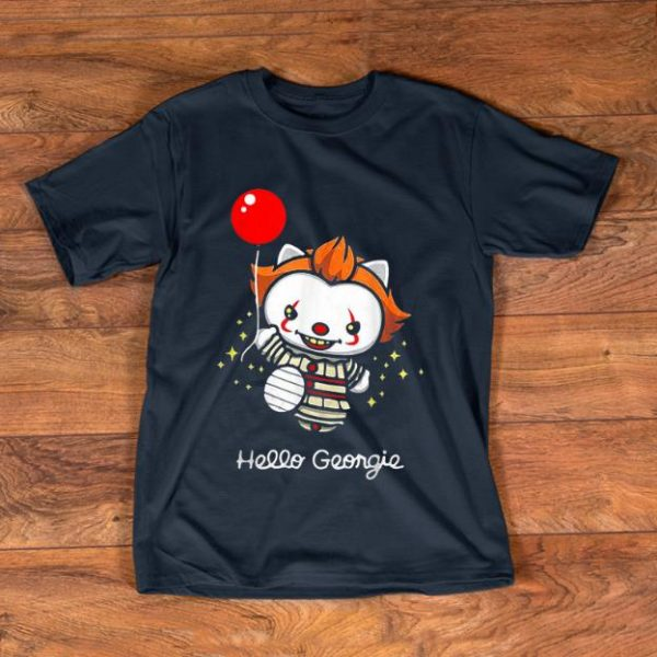 Pretty Hello Georgie IT Baby Pennywise With Balloon shirt