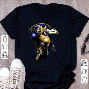 Pretty Iron Man Baltimore Ravens shirt