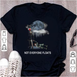 Pretty Jason Voorhees And Pennywise Not Everyone Floats shirt
