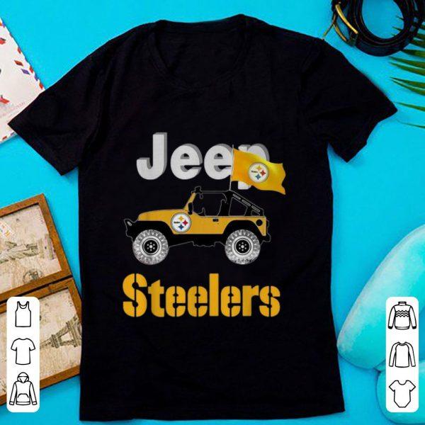 Pretty Jeep Flag Pittsburgh Steelers NFL shirt