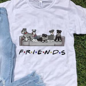 Pretty Miniature Schnauzer Friends TV Show shirt