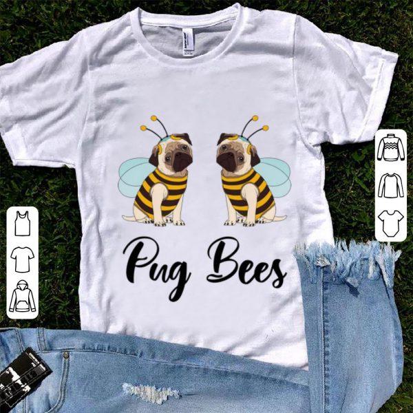 Pretty Pug Bees Halloween shirt
