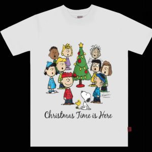 Pretty Snoopy Peanuts Christmas Time Is Here shirt