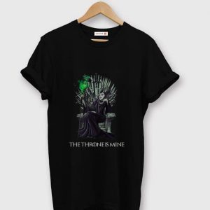 Pretty The Throne Is Mine Maleficent Game Of Throne shirt