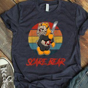 Pretty Vintage Scare Bear Halloween Scary Horror shirt