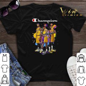 Signature Champion DeMarcus Cousins Lebron James Anthony Davis shirt