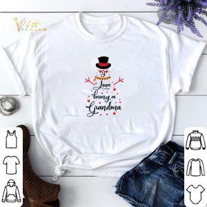Snowman I love being a grandma shirt sweater