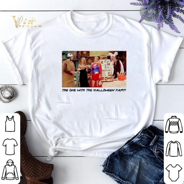 The one with the halloween party Friends TV 2001 shirt sweater