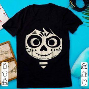 Top Disney Pixar Coco Miguel Face Halloween Graphic shirt