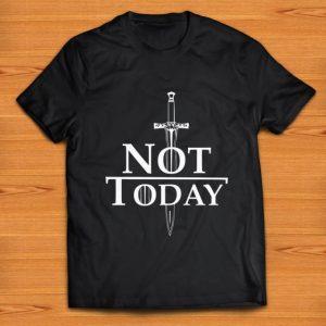 Top Game Of Thrones Arya Stark Not Today shirt